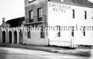 Criterion Hotel, Tenterfield, NSW, circa 1950s.