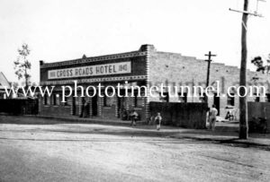 Crossroads Hotel, Tomingley, NSW, circa 1950s.