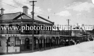 Exchange Hotel, Tenterfield, NSW c1950s (2)