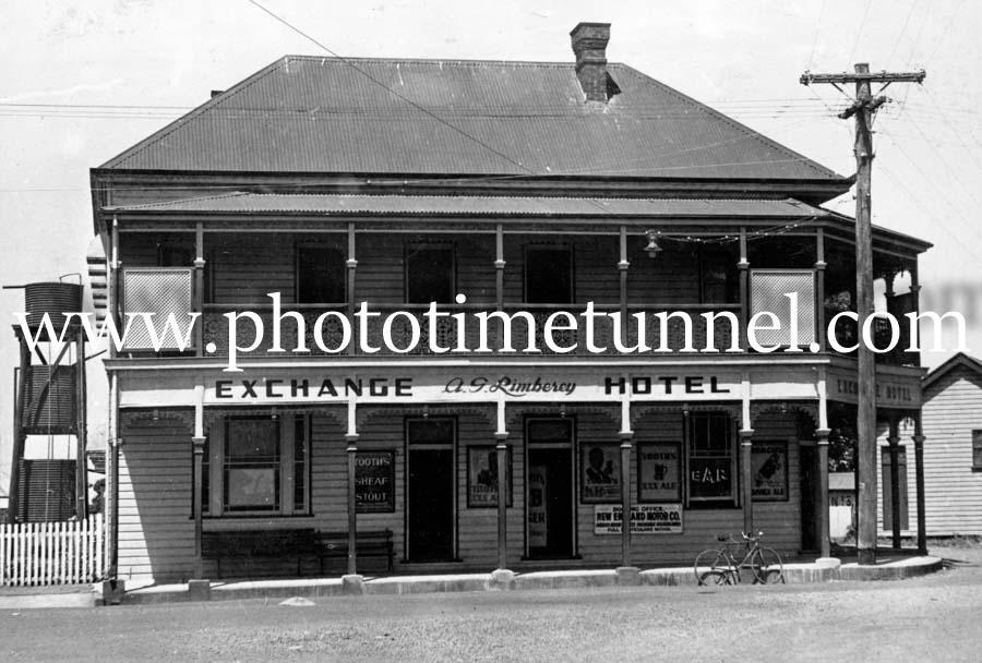 Exchange Hotel, Ulmarra, NSW, circa 1950s.