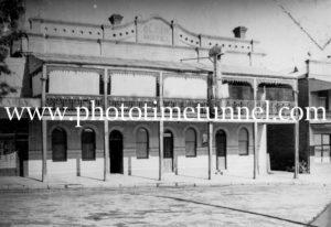 Globe Hotel, Tumut, NSW, circa 1950s.