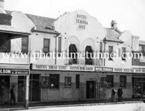 Hotel Temora, NSW, circa 1950s.