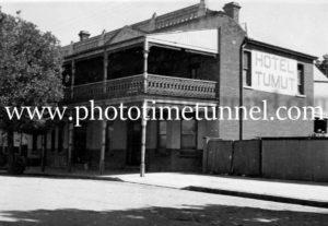 Hotel Tumut, NSW, circa 1950s.