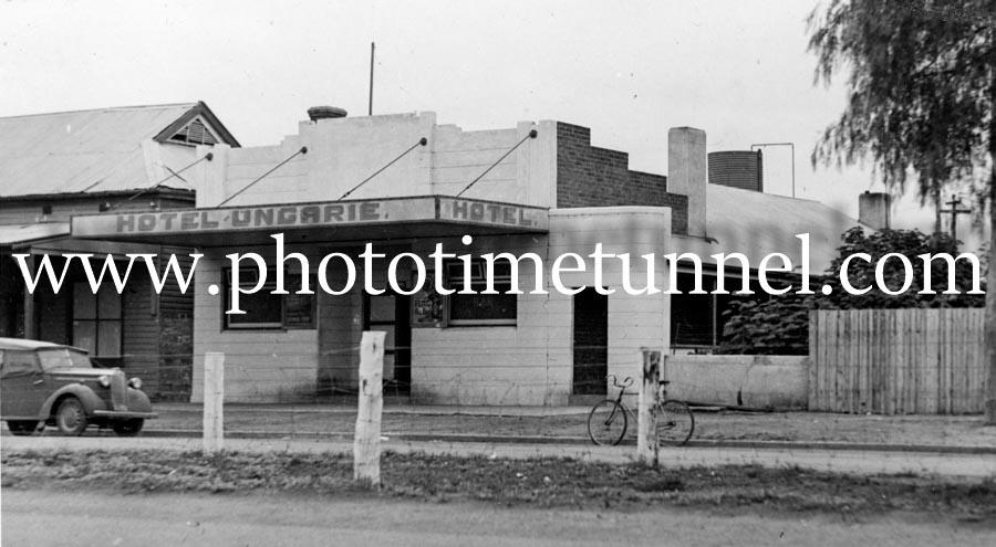 Hotel Ungarie, NSW, circa 1950s.