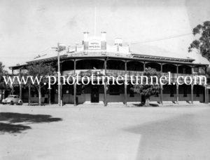 Imperial Hotel, Trangie, NSW, circa 1950s.