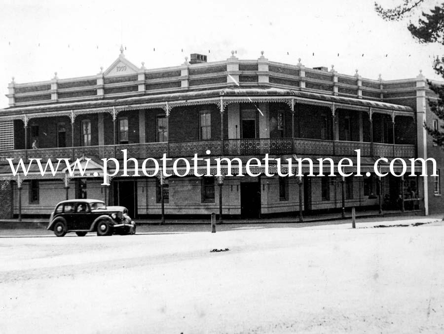 Imperial Hotel, Uralla, NSW, circa 1955.