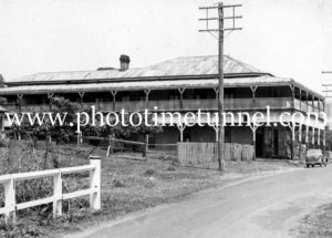Mount Warning Hotel, Uki, NSW, circa 1950s.
