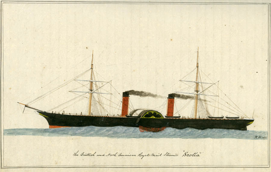 The logbook of Captain Robert Huddle