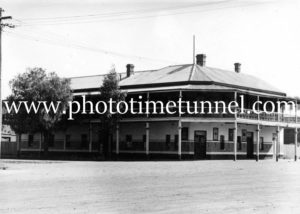 Royal Hotel, Trangie, NSW, circa 1950s.