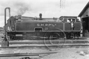 South Maitland Railways locomotive no. 28, October 1961.