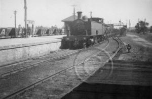 Coal train at Weston, NSW.