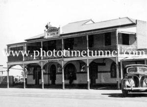 Shamrock Hotel, Temora, NSW, circa 1950s.