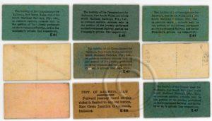 South Maitland Railway tickets (back).