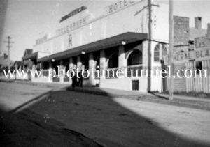 Telegraph Hotel, Tenterfield, NSW, c1950s.