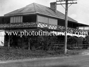 Metropolitan Hotel, Tumbulgum, NSW, circa 1950s.