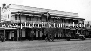 Union Hotel, Trundle, NSW, circa 1950s.