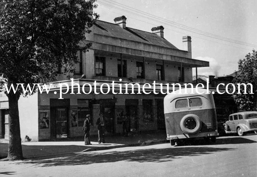 Wynyard Hotel, Tumut, NSW, circa 1950s.