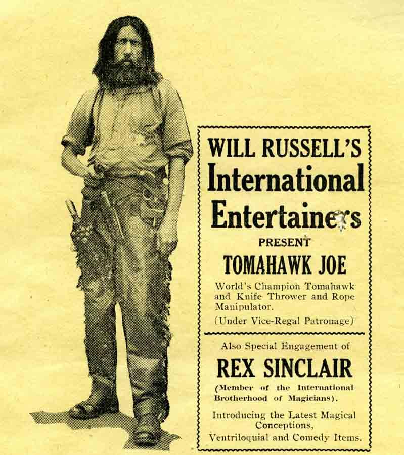 The real Tomahawk Joe, at last