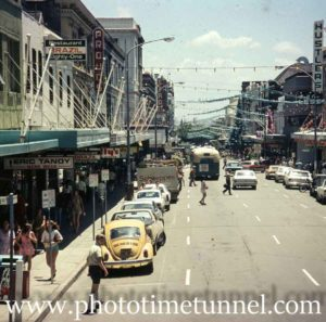 Hunter Street Mall, Newcastle, NSW, circa 1979