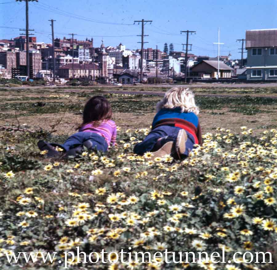 Children in Newcastle East, NSW, 1970s.