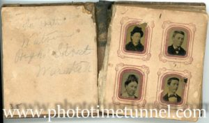 Tintypes: oddities in the family album