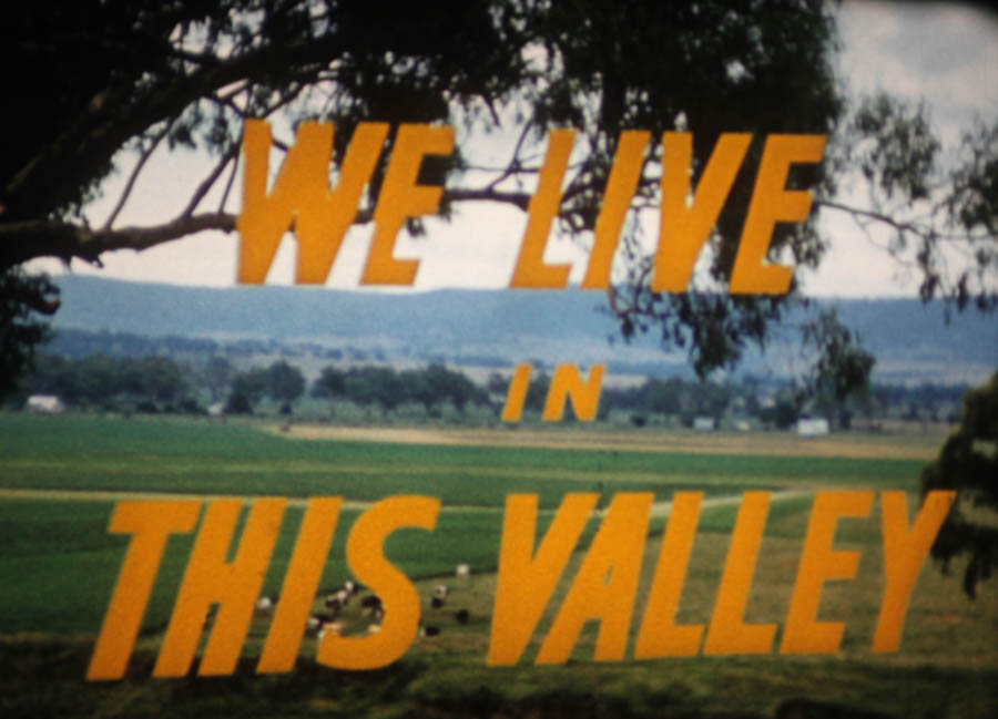 The Hunter Valley in the 1960s: on film