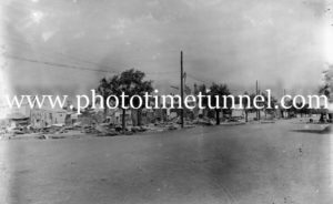 Aftermath of fire at Narrabri, NSW, January 21, 1912. (2)