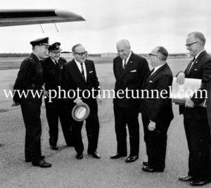 Australian Prime Minister Harold Holt visits Newcastle, September 1967. (3)