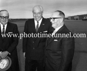 Australian Prime Minister Harold Holt visits Newcastle, September 1967 (5).