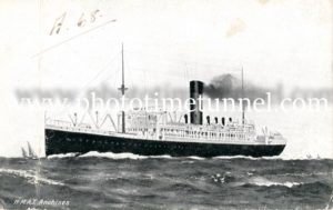 World War 1 troopship A68 HMAT Anchises