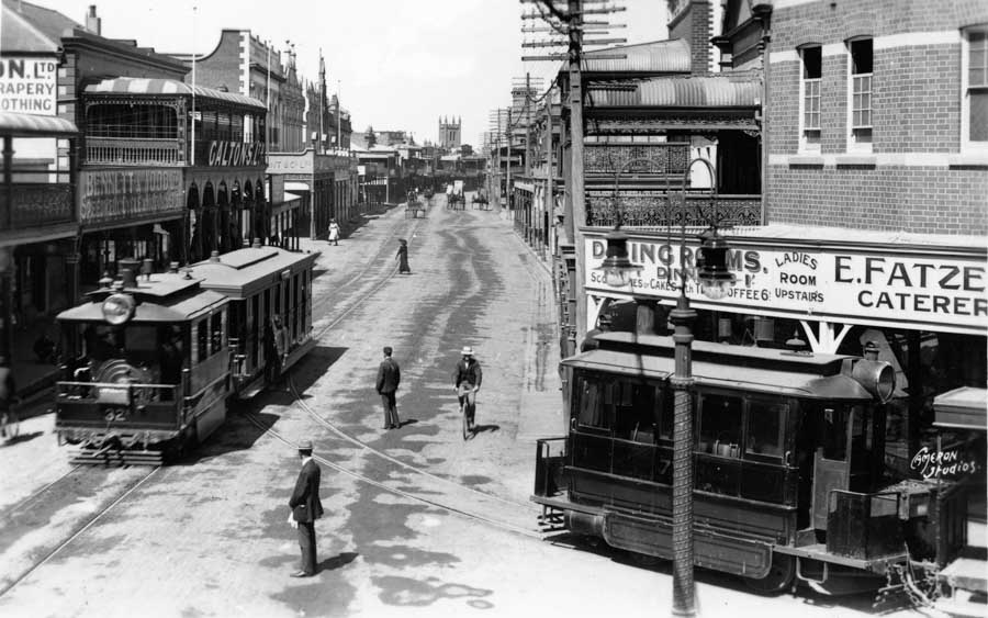 The steam trams of Maitland