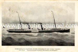 Ship SS Namoi.