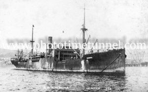 Ship SS Wairuna.