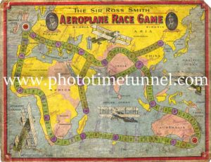 Sir Ross Smith Aeroplane Race Game