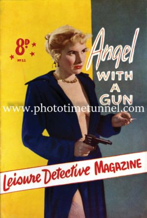 Angel with a Gun vintage cover art