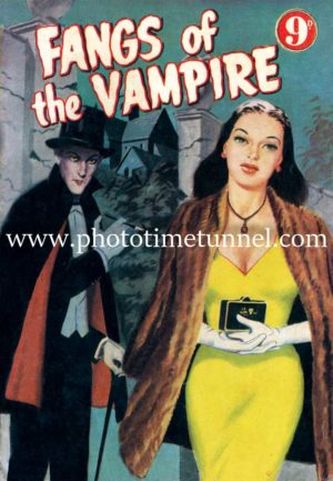 Fangs of the Vampire cover art
