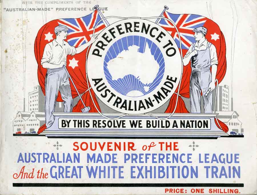 "The Great White ""Buy Australian"" Train"