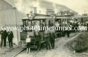 Last day of Maitland steam tramway 31-12-1926 (6)
