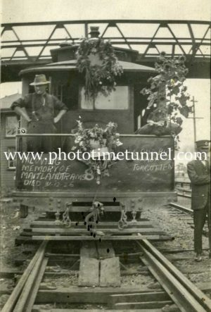 Last day of Maitland steam tramway 31-12-1926 (13)