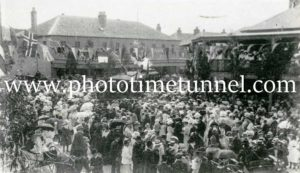 Opening of Maitland steam tramway 8-2-1909