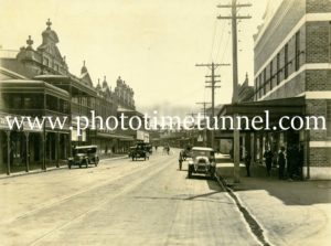 View in High Street Maitland circa 1920s