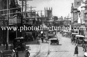View in High Street Maitland circa 1920s (2)