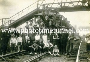 Last day of Maitland steam tramway 31-12-1926 (18)