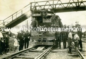 Last day of Maitland steam tramway 31-12-1926 (23)