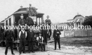 Last day of Maitland steam tramway 31-12-1926 (2)