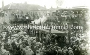 Opening of Maitland steam tramway, February 8, 1909 (2)