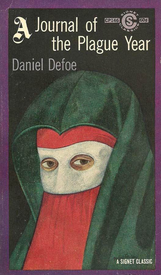 Daniel Defoe's London Journal of the Plague Year: insights for the year 2020