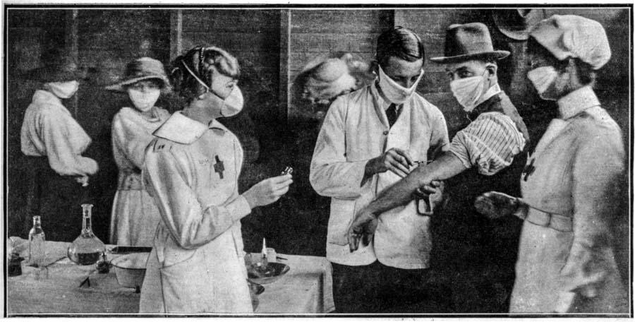 The Spanish Flu pandemic of 1918-20