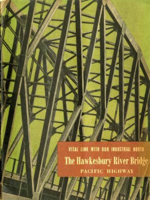 Souvenir brochure for the opening of the Hawkesbury River road bridge, NSW, May 1945 (PDF download)