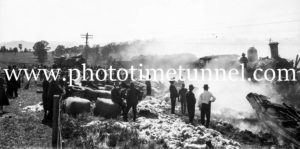 Murulla train smash, NSW, September 13, 1926 (1)